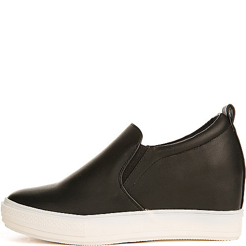 Wanted Pocono Slip On Casual Shoe Black Slip-on Shoes