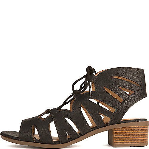 City Classified Dalles-S Lace-Up Sandals Black