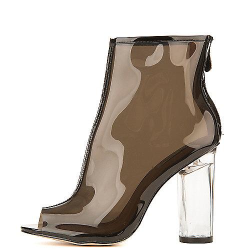 Cape Robbin Women's Benny-1 Ankle Bootie Black High Heel Boots