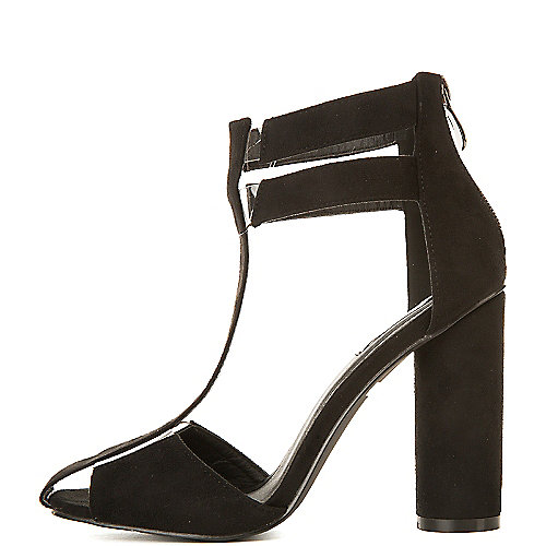 Cape Robbin Paw-31 High Heel Dress Shoe Black