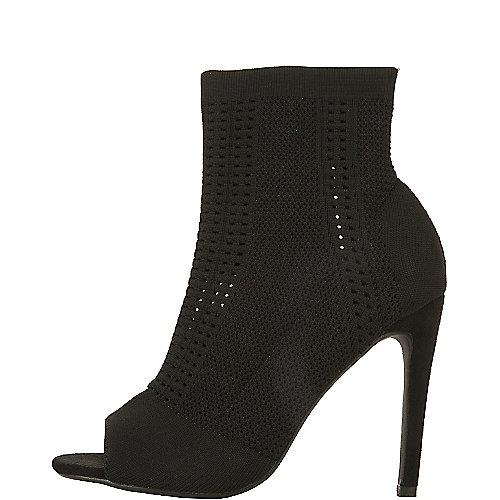 Cape Robbin Elnora-26 High Heel Dress Shoe Black