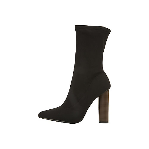 Cape Robbin Connie-5 High Heel Ankle  Black