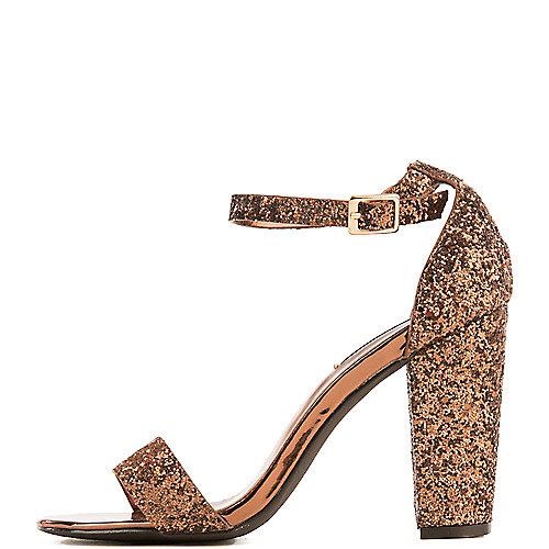 Cape Robbin Lisa-25 High Heel Dress Shoe Bronze