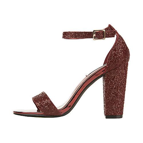 Cape Robbin Lisa-25 High Heel Dress Shoe Burgundy