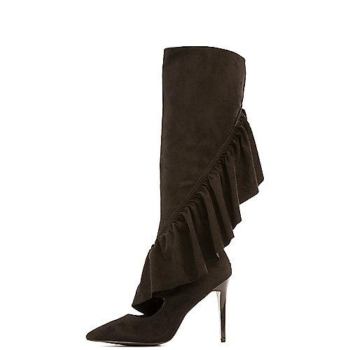 Cape Robbin Mimi-1 High Heel Boots Black