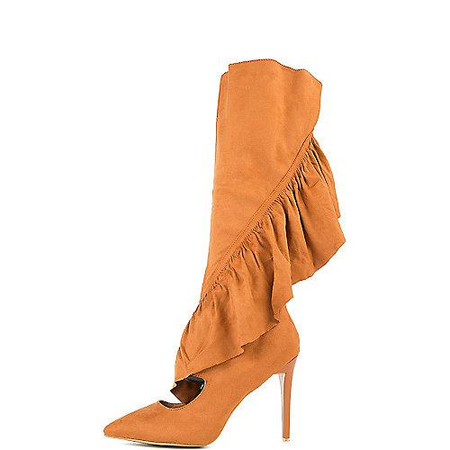 Cape Robbin Mimi-1 High Heel Boots Tan