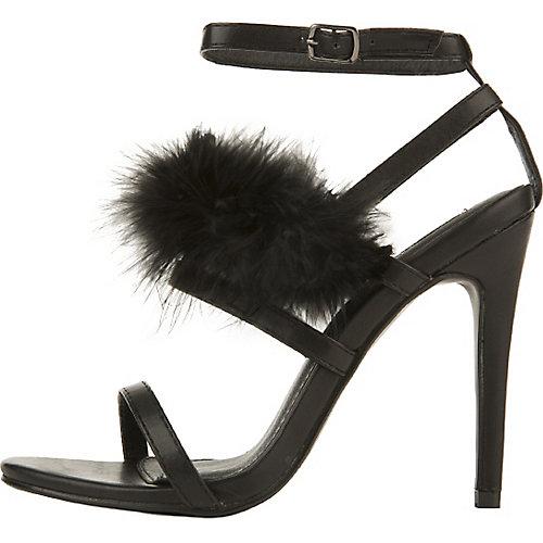 Cape Robbin Corina-6 High Heel Shoe Black