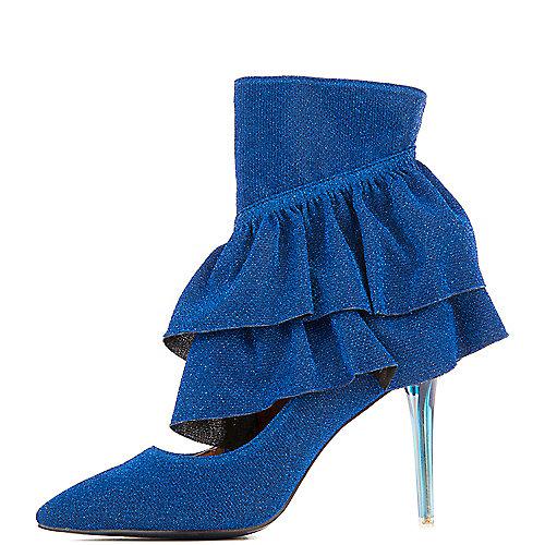 Cape Robbin Beatrix-3 High Heel Booties Blue