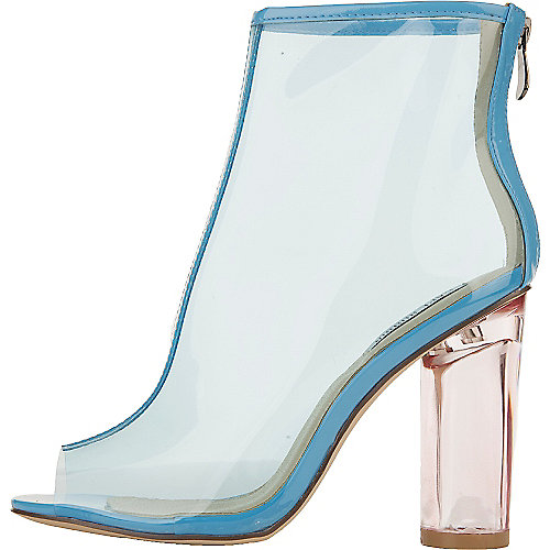 Cape Robbin Benny-1 Ankle Booties Blue