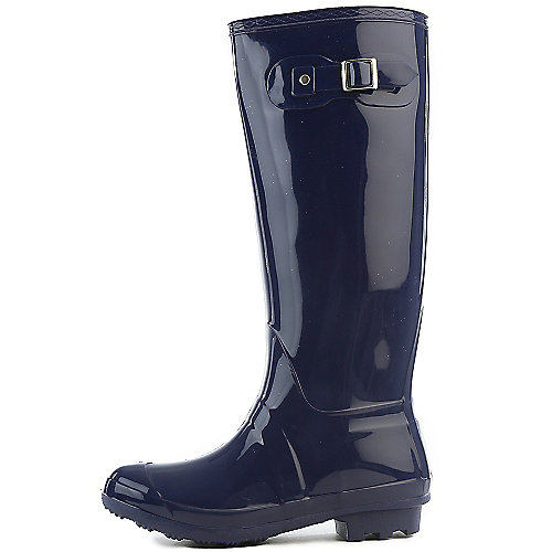 Bamboo Womens Padinton-01 Navy Rain Boots