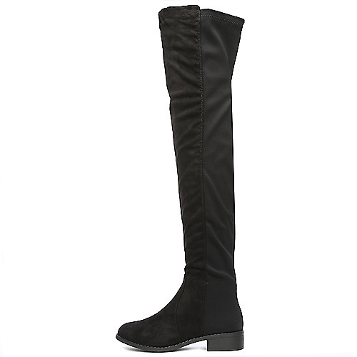 Twin Tiger Footwear Precise-01K Thigh High Boots Black