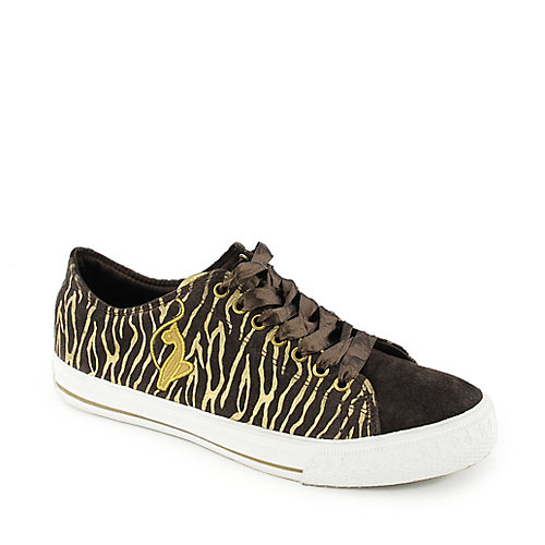 Baby Phat Womens Zebra Low