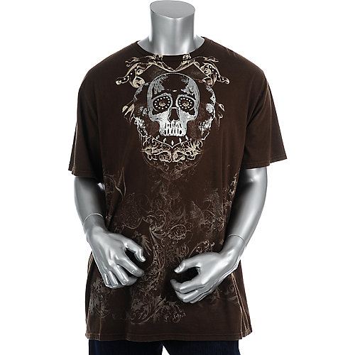 Brad Butter Mens Brown Tee
