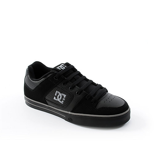 DC Shoes Mens Gunmetal Pure