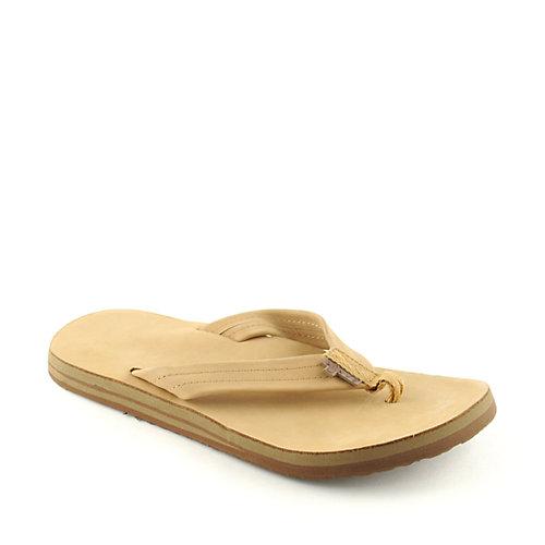 Sanuk Mens Little Joe Tan Sandals