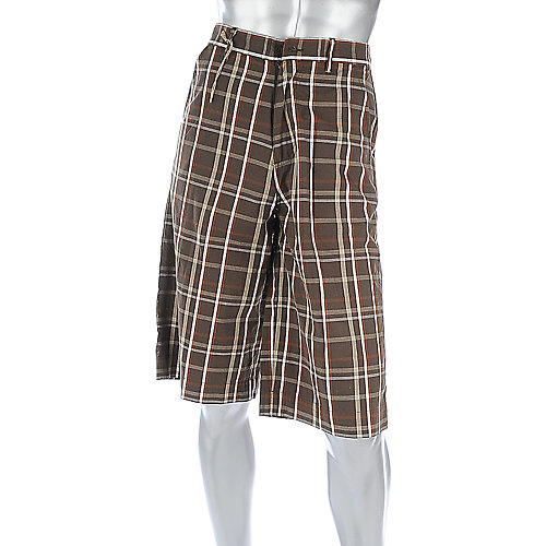 Shiekh Mens Plaid Short