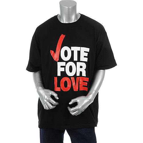 Love Ink Mens Vote for Love Tee