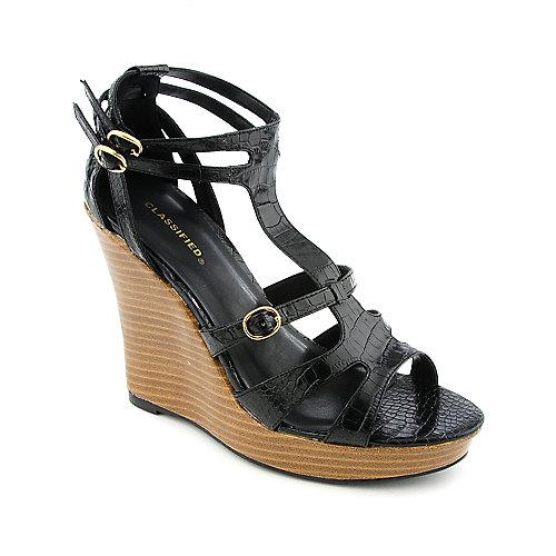 Classified Kick-S Black Platform Shoes
