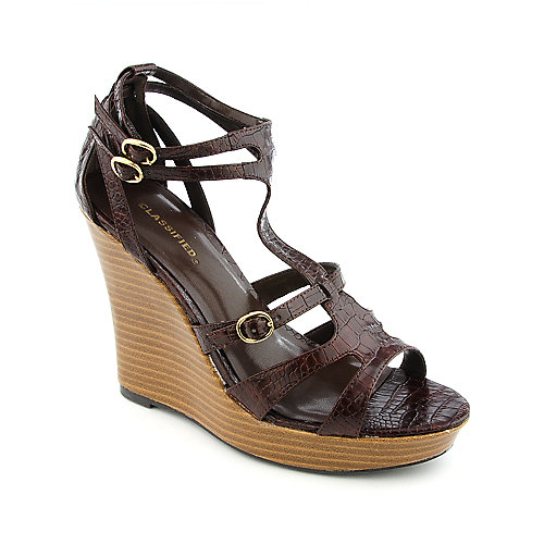 Classified Kick-S Brown Platform Shoes