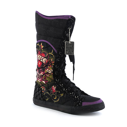 Ed Hardy Womens Love Kills Slowly Boot