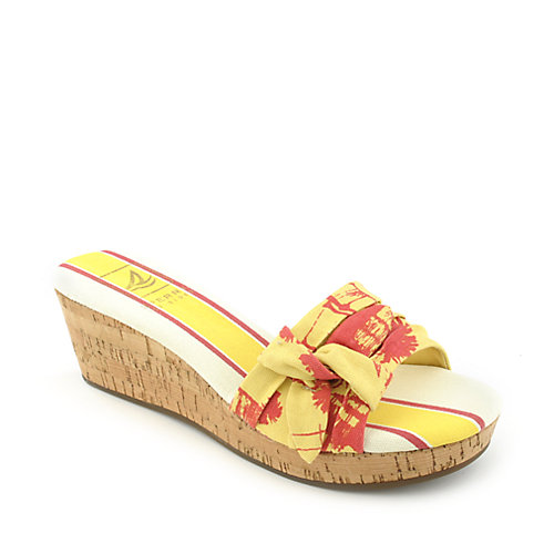 Sperry Top Slider Castle Hill Yellow