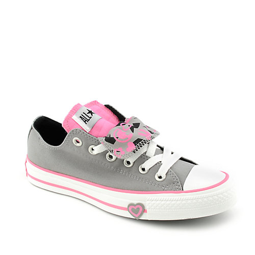 Converse Kids All Star Double Tongue Smiley Ox
