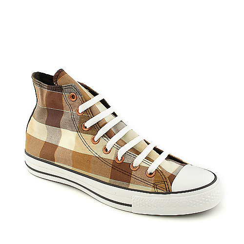 Converse Mens All Star Plaid Hi