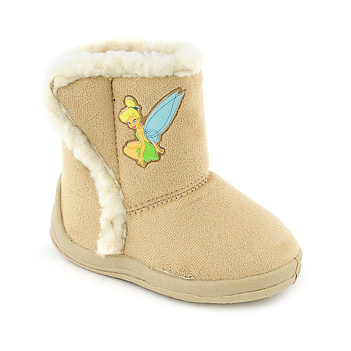 Shiekh Kids Suede Velcro Boot (7-13)