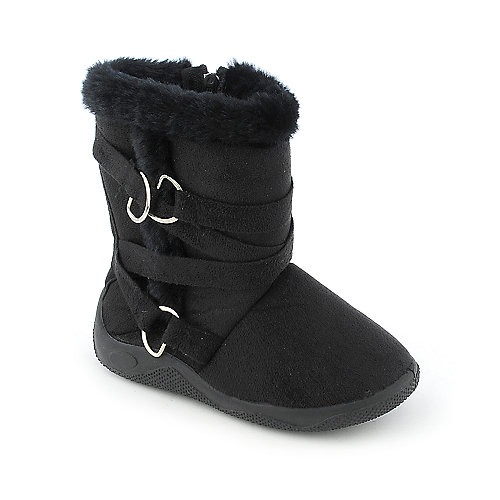 Shiekh Kids Suede Zip Boot (7-13)
