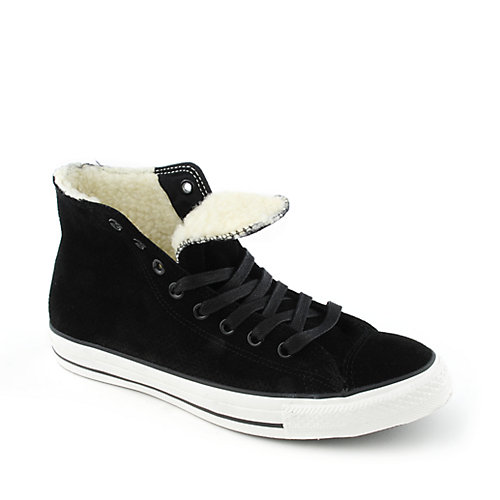Converse Mens All Star Leather Perf Hi
