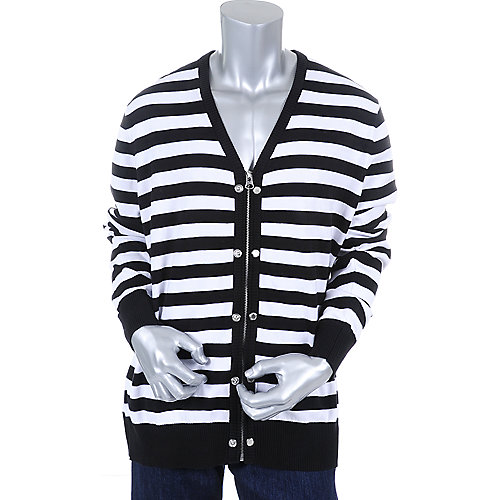 Sean John Mens Two Way Cardigan