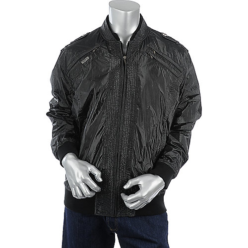 Sean John Mens Black Jacket