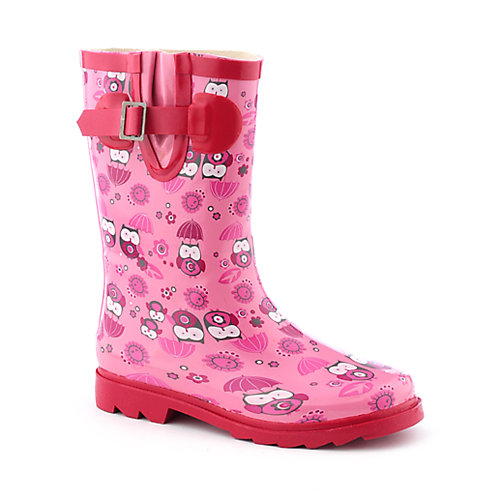 Nature Breeze Kids Baby Owl Rain Boot