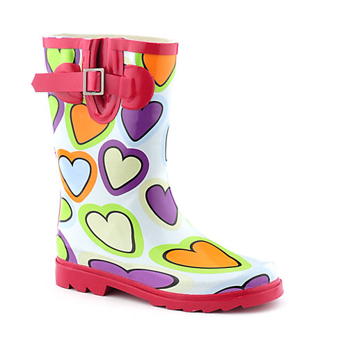 Nature Breeze Kids Heart II Rain Boot