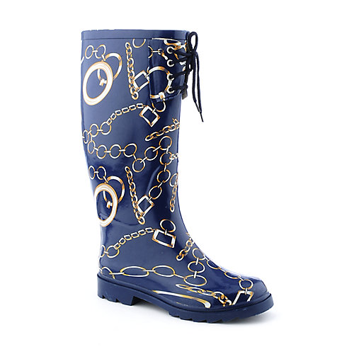 Sweet Beauty Womens Chain Rainboot