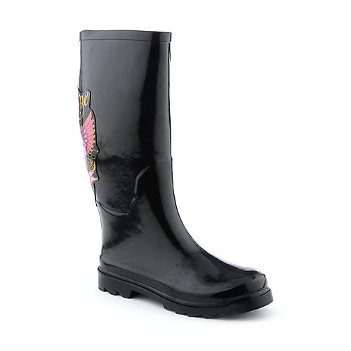 Sweet Beauty Womens Peacelove Rainboot