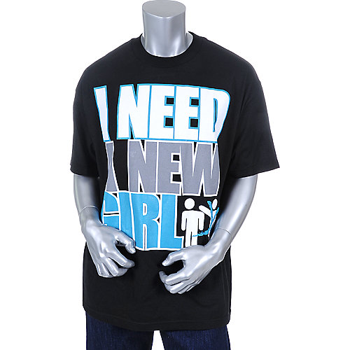 Cali Swagger Mens I Need A New Girl Tee