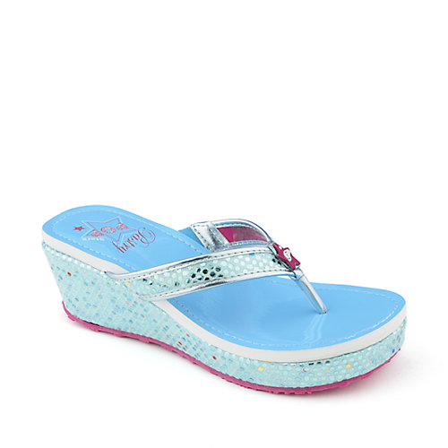 Pastry Kids Pop Stars Blueberry Stars Sandals