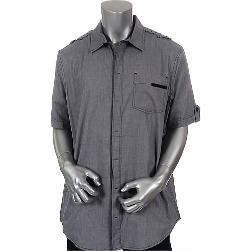 Sean John Mens Short Sleeve Dobby Shirt