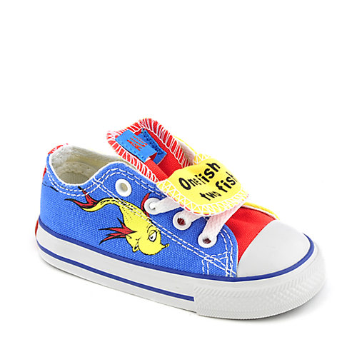 Converse Toddler All Star Seuss Double Tongue Ox
