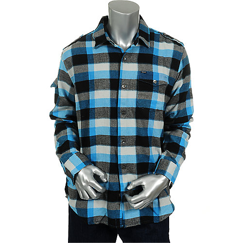Hurley Mens Long Sleeve Woven Shirt