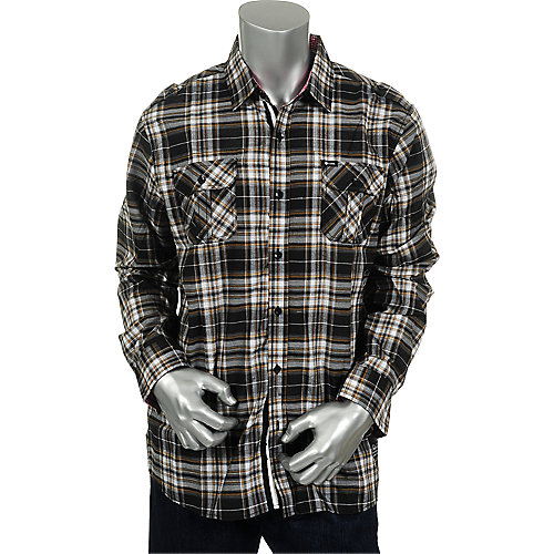 Shiekh Mens Plaid Shirt