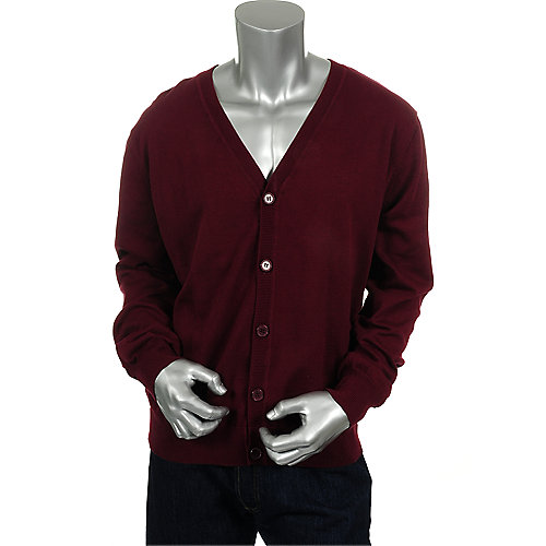 S.W.B Apparel Mens Classic Cardigan