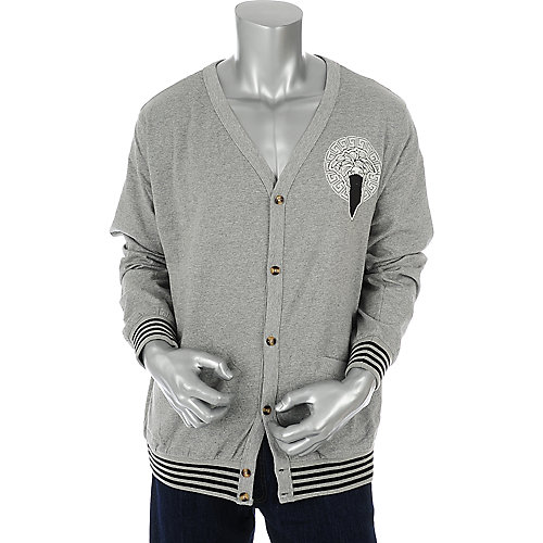 Crooks & Castles Mens Medusa Cardigan