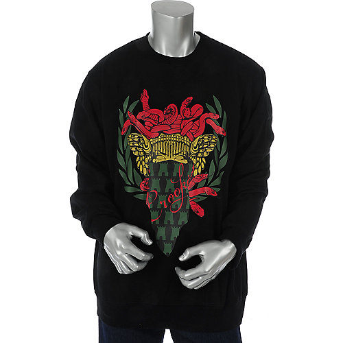 Crooks & Castles Mens Wreath Crew Sweatshirt