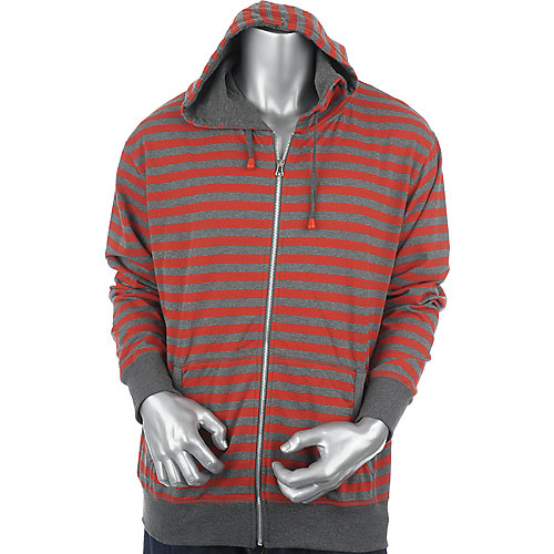 Galaxy by Harvic Mens Striped Hoodie