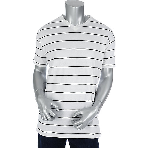 Jordan Craig Mens Thin Striped Tee