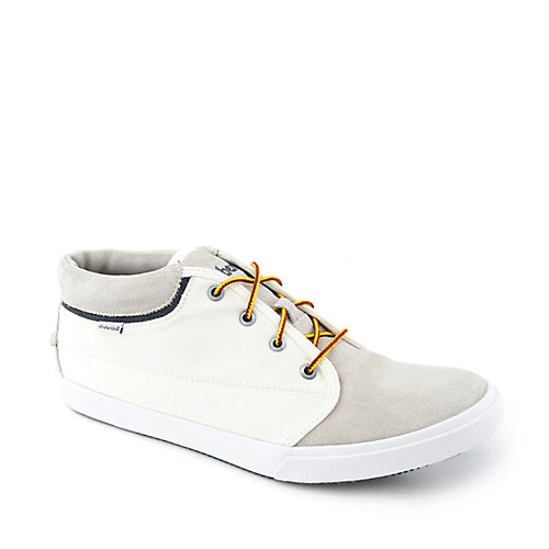 Timberland Mens Canvas Plain Toe Chukka