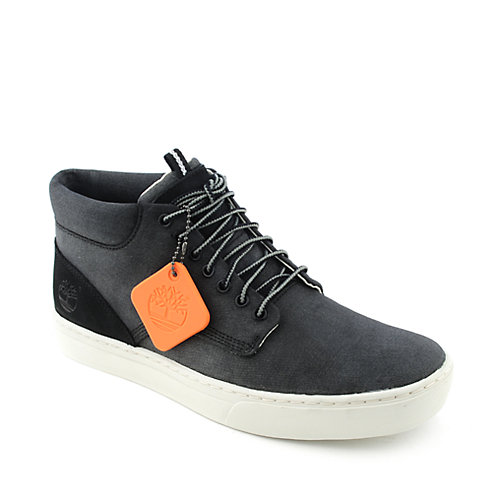 Timberland Mens Canvas Deck Chukka