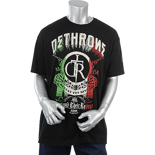 Dethrone Royalty Mens Rock Of Cain Tee